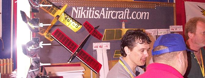 Nikitis offers everything from CNC cut electric kits seen here to an 80