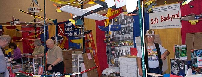 An overview of NES's booth.