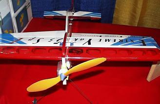 The Extreme Yak profile electric Yak-ish 3D aerobat.