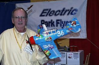 I couldn't leave the FanTastic booth without this picture...the AT6 suited up in Nascar colors for pylon racing! Just 21