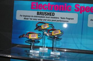 Kontronik's brushed ESCs, now imported by Great Planes.