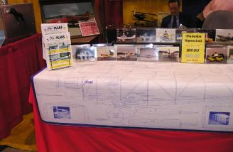 The plans for the big Stinson.