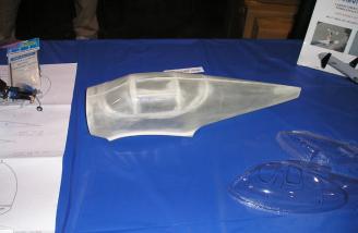 Look at the swift's fiberglass fuselage!