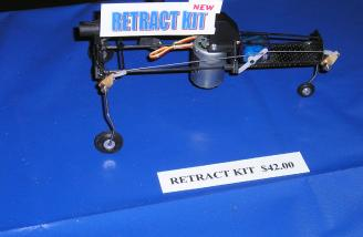 Micro retracts for micro helis.