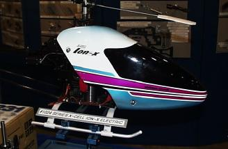 The exciting new ION-X electric helicopter from XCELL!