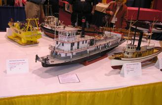 John Fryants Scratch Mississippi River Towboat.