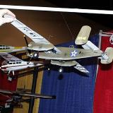 The North American B25 in Jimmy Doolittle Tokyo air raid colors, complete with