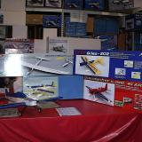 HHI demonstrated numerous e-specific or easily converted airplanes, including the impressive Omei 2000 EP 75