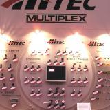 Hitec's impressive servo display.
