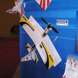 The Ultimate and Tribute 3D ARFs wrap up the new E-flite lineup with awesome indoor profile ARF 3D aerobats. At 28