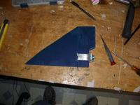 Name: Airframe almost done 002.jpg Views: 79 Size: 42.3 KB Description: Thrust vectoring tail