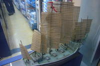 Name: P1170776.jpg Views: 569 Size: 73.8 KB Description: A Trumpeter Cheng Ho in Yi Feng Model's window.  This is one of the larger, better stocked hobby stores in Shanghai but still no larger than 500sf.  They liked the photos of the kit I converted to RC.
