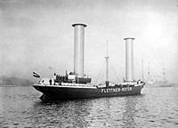 Name: Buckau_Flettner_Rotor_Ship_LOC_37764u.jpg Views: 77 Size: 210.2 KB Description: Flettner's Buckau, 1925