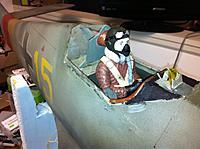 Name: pilot update.jpg Views: 74 Size: 264.3 KB Description: skippy now repainted , new mask ,harness belts , colar