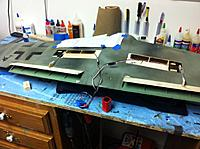 Name: Flap 3.jpg Views: 80 Size: 94.3 KB Description: servos installed , I know its not a scale exit for the rod but i was getting too much internal binding and I will conceal the flap rods with paint