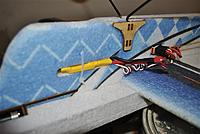 Name: 56- Wire tied ESC.jpg Views: 309 Size: 200.6 KB Description: 57- I used a wire tie to hold the ESC in the pre-cut slot.