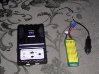 Name: P1010267.jpg Views: 377 Size: 157.6 KB Description: Smart charger, and 11.1v li-po battery