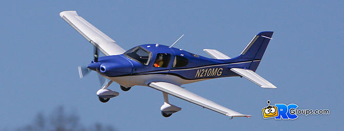 Horizon Hobby Cirrus SR22T 1.5m BNF Basic Review