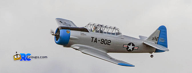 Horizon Hobby E-flite AT-6 Texan 1.5M BNF
