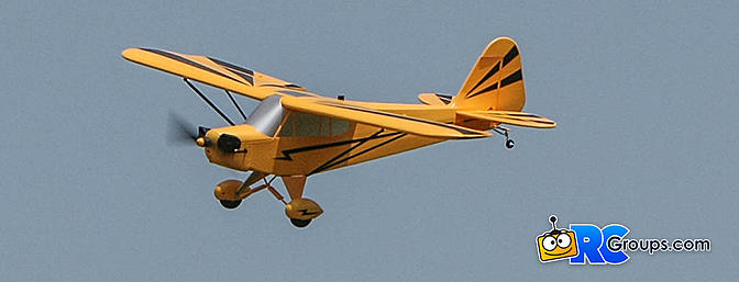 Clipped Wing Cub 1.2m BNF Basic with AS3X and SAFE Select Review