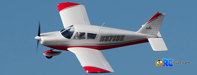 Horizon Hobby E-flite Piper Cherokee 1.3m BNF Basic