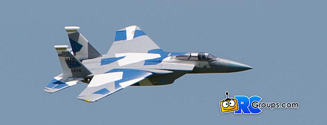 Horizon Hobby E-flite F-15 Eagle 64mm EDF Review