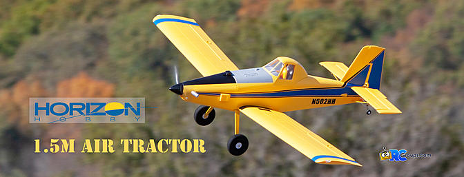 Horizon Hobby E-flite Air Tractor 1.5m BNF Basic with AS3X and SAFE Select