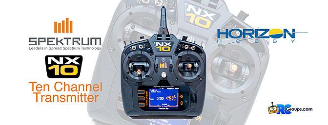 Spektrum NX10 10-Channel Transmitter Review
