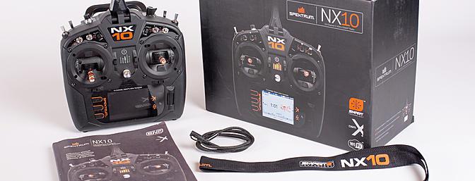 Spektrum NX10 Box Contents