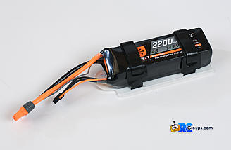 4S 2200mAh Lipo battery is the perfect choice for this airplane