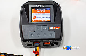 Initiating charge on a G2 Lipo, just plug it in and the rest is automatic