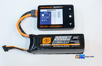 Checking individual cell voltage on a G1 Smart Lipo pack