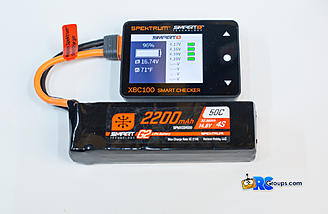 Checking individual cell voltage on a G2 Smart Lipo pack