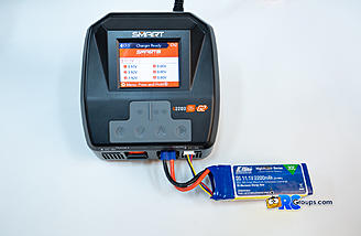 Preparing to charge conventional lipo battery
