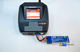 Checkin the charger settings before charging conventional lipo