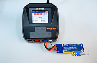 Individual cell voltage can be monitored during charging