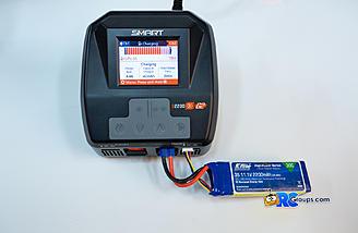 Main screen while charging