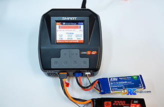 Simultaneous charging of a G2 Smart Lipo on channel 1