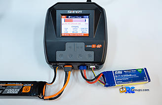 Simultaneous charging of a G1 Smart Lipo on channel 1