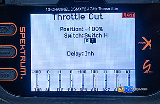 Setting up throttle cut is a good safety practice and easy to do