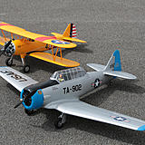 Horizon has models of both the primary trainer (PT-17) and advanced trainer (AT-6) for us to enjoy.