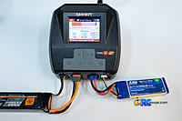 Name: 2J7A7507.jpg Views: 131 Size: 1.03 MB Description: Simultaneous charging of a G1 Smart Lipo on channel 1