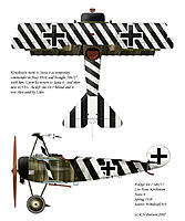 Name: BP_Fokker Dr.I Js6-Kirchstein.jpg Views: 53 Size: 209.3 KB Description: Interesting movement of the aircraft between Jasta 6 and 4.