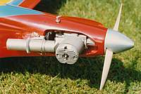 Name: MVVS pylon engine.jpg Views: 969 Size: 66.4 KB Description: This is a close up of the MVVS 6.5 GRRT pylon engine. The crank had a 6mm thread rather than a 1/4 unf which made a spinner problematic. The exhaust timing was intended for a tuned pipe so wasn't ideal for Formula One. Best motors went to the Czech nation