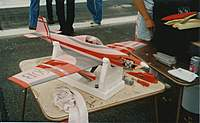 Name: Pete Bergstrom's 'Toni.jpg Views: 713 Size: 66.4 KB Description: Pete Bergstrom's beautifully finished 'Toni   STX40.  Pete had a shop then called NorthWest Hobby Supply and he produced several F1 race kits