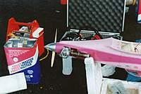 Name: Scott Winslow's Toni with Nelson F1 motor.jpg Views: 486 Size: 63.5 KB Description: Scott's 'Toni with Nelson 40 engine