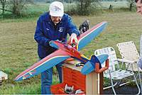 Name: Don Rice and Stinger.jpg Views: 500 Size: 85.1 KB Description: Don Rice with his Stinger model
