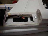 Name: DSCN4382.jpg Views: 47 Size: 83.3 KB Description: Esc extension ready for a battery.