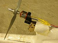 Name: EasyStar Motor Mount Mod for 10inch Prop June 2009 - DSCN5830.jpg Views: 343 Size: 77.0 KB Description:
