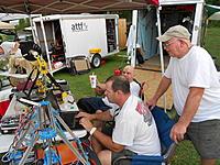 Name: DSCN2005.jpg Views: 60 Size: 293.8 KB Description: Tech Gurus Tim & Bob, show their 3-D printers to Larry